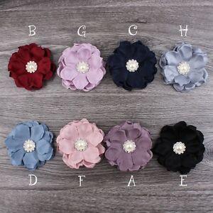 50pcs-Felt-Fabric-Flower-Pearl-Button-For-Baby-Girls-Headbands-Hair-Accessories