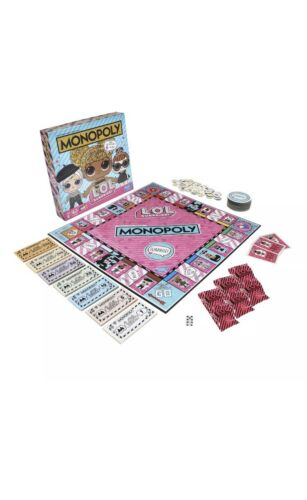 SURPRISE Monopoly Game Edition Board Game For Kids Ages 8 and Up L.O.L