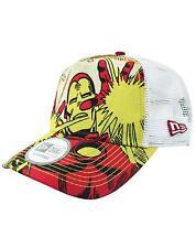New Era Avengers Iron Man Trucker Cap