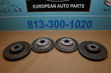 03-06 W211 W219 R230 MB E55 CLS55 SL55 ALL 4 BRAKE DISC ROTOR FRONT & REAR #2