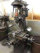 Moore Tools Hand Milling Machine Jig Bore 220v