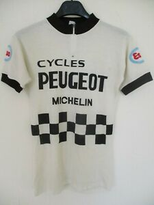 Maillot-PEUGEOT-ESSO-MICHELIN-1977-Bernard-THEVENET-jersey-trikot-vintage-maglia