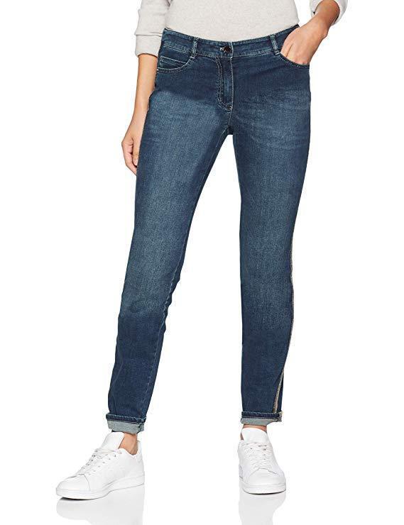 Gerry Weber Hose Fade Out Slim Jeans Regular bluee RRP