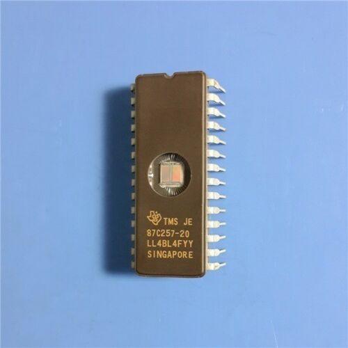 1PCS  EPROM IC TI CDIP-28 TMS87C257-20JE TMS87C257