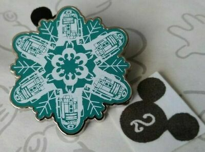Star Wars Snowflakes Booster Set R2-D2 Disney Pin 119147