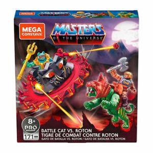 Mega Construx Masters Of The Universe Battle Cat Vs Roton Set NEW Heman He Man