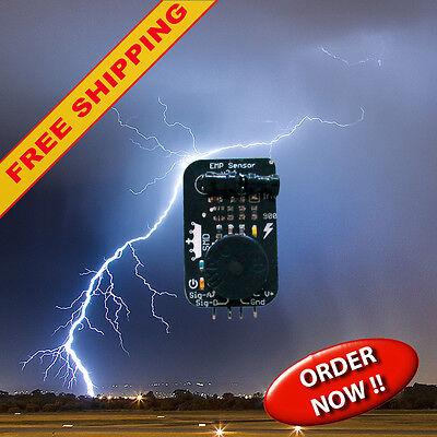 3x EMP sensor / detector module for lightning detection