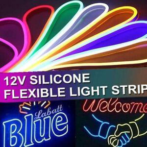 1-5M-Neon-Flex-Strip-LED-Rope-Light-Waterproof-DC-12V-Flexible-Lighting