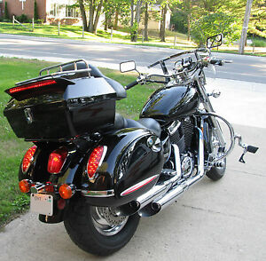 Motorcycle Led Kit >> New XL Hard Saddle Bags Saddlebags Honda VTX 1300 1800 Shadow Aero | eBay