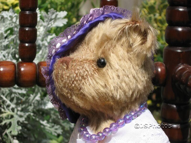 Kleeneze UK Europe Europe Europe Victorian Lady Mohair Bear 425bc1