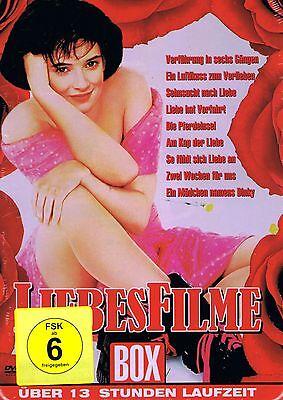 DVD-BOX NEU/OVP - Liebesfilme Box - 9 Filme - Am Kap der Liebe u.a.
