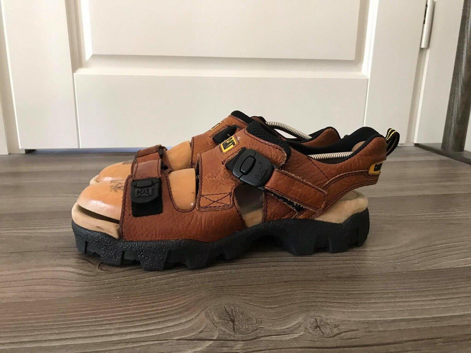 Caterpillar Men's Leather Sandals Size UK9