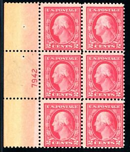 USAstamps-Unused-FVF-US-Plate-Block-7942-From-505-Error-Sheet-Scott-499-OG-MNH