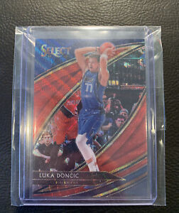 2019-20 Luka Doncic Select China T-mall Courtside Ruby Wave Card! PSA Gradable!