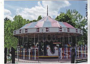 034-The-Antique-Carousel-034-Lakeside-Park-Wisconsin-Postcard-V-19