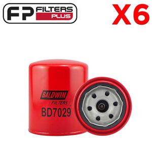 6-x-BD7029-Dual-Flow-Oil-Filter-RYCO-Z334-Suits-4-2L-T-Diesel-Landcruiser