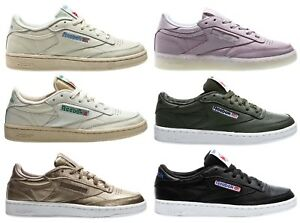 Details about Reebok Club C 85 Classic Leather Lthr Women Sneaker Womens Shoes Shoes show original title