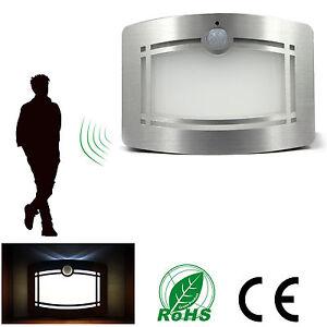 led wandleuchte bewegungsmelder sensor infrarot kaltwei batteriebetrieben de ebay. Black Bedroom Furniture Sets. Home Design Ideas