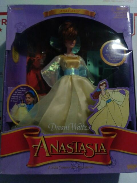 1997 Galoob Dream Waltz Anastasia Doll Bonus Cassette with 2 Songs