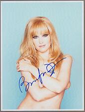 BRIDGET FONDA Signed 8 x 10 SEXY Color Photo Autograph w/ COA NUDE Pic & AUTO