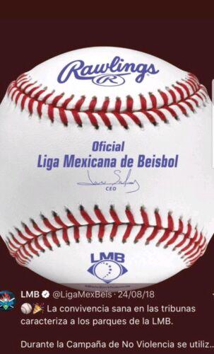Nouvelle Liga mexicana de beisbol officiel Rawlings Baseball BGS mexicain Ligue Pamplemousse