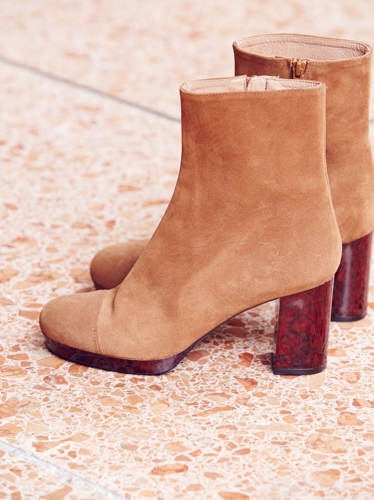 Free People Liquid Gold Platform Boot Size 11 New MSRP: 198 Suede