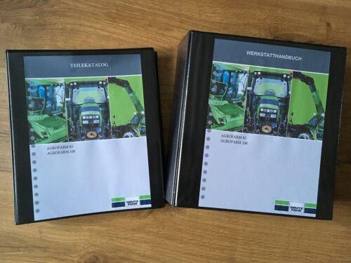 Deutz Fahr DF Agrofarm 85 100 Reparaturhandbuch Werkstatthandbuch Teilekatalog