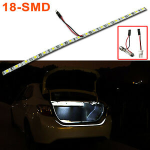 Super Bright White 18-SMD LED Strip Light Bar Car Trunk Cargo Area Illumination