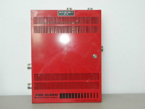 EST EDWARDS BPS6A REMOTE BOOSTER FIRE ALARM POWER SUPPLY BPS-6A CABINET
