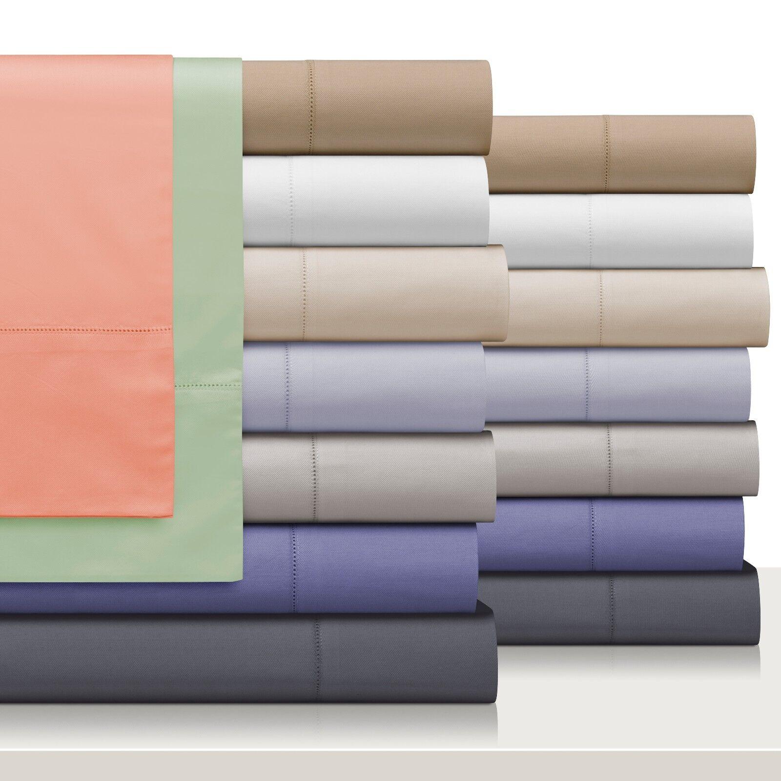 European Collection 600 Series Egyptian Cotton Queen King & Cal King Sheet Set