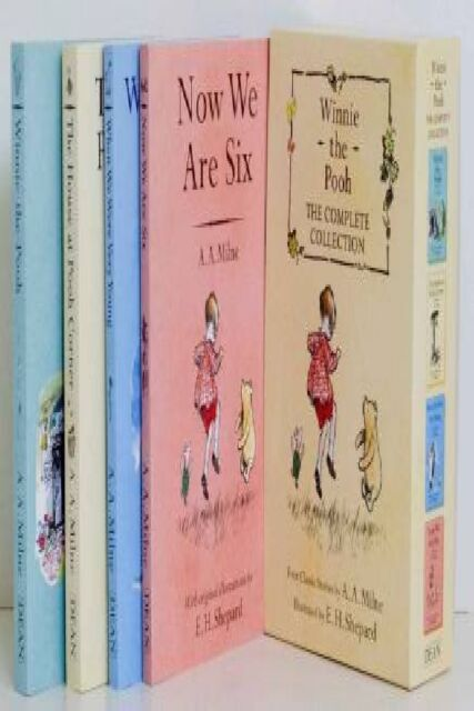 Winnie The Pooh Complete Collection by AA Milne [Box Set]