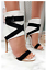 Womens Ladies High Stiletto Heel Open Toe Strappy Sporty Buckle Boot Style Shoes