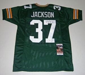 PACKERS-Josh-Jackson-signed-custom-jersey-w-37-JSA-COA-AUTO-Autographed-ROOKIE