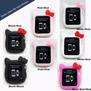 a37643e69 For Apple Watch Series 1/2/3/4 Hello Kitty Apple iWatch Cover Case ...