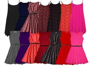 GIRLS-PARTY-FLORAL-KIDS-PLAIN-BODY-CO-SKATER-DRESS-FLARED-BELTED-PRINTED-DRESSES