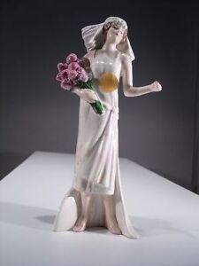 + # A000010 Goebel Archive Motif Femme Mariée Mariage Her Treasured Day 1925, 16-289-afficher Le Titre D'origine
