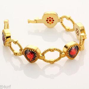 Rebecca-Jewelry-27-20CTW-Hydro-Ruby-Heart-Romance-Rope-Bracelet-8-Inches
