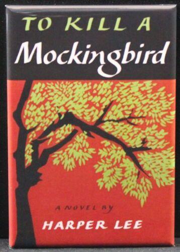 "To Kill a Mockingbird Book Cover 2/"" X 3/"" Fridge Locker Magnet."