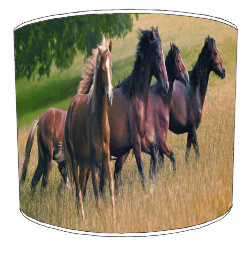 Equestrian Lampshades Ideal To Match Horses Cushions Horses Duvets Horses Decals