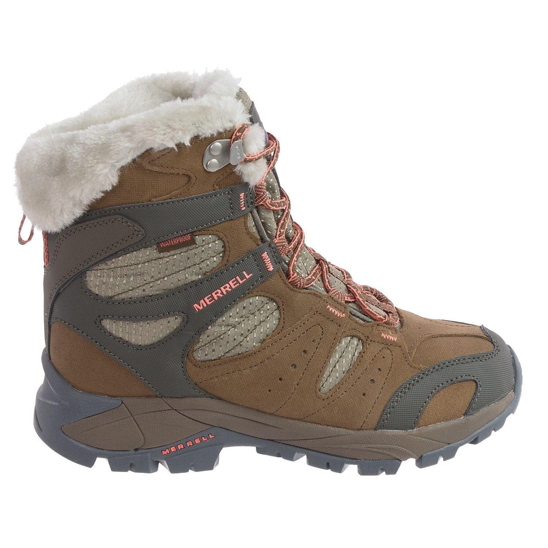 8.5 M MERRELL KIANDRA Women's Hiking Outdoor Boots - Waterproof Insulated