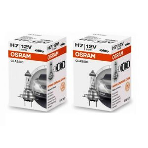 2x-Osram-H7-Classic-64210-CLC-Lampe-12V-55W-64210CLC-Autolampe-Gluehlampe