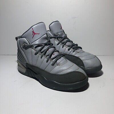 Nike Air Jordan XII 12 Retro GP Wolf Grey//Pink-Cool Grey 510816-029 PS SZ 2.5Y