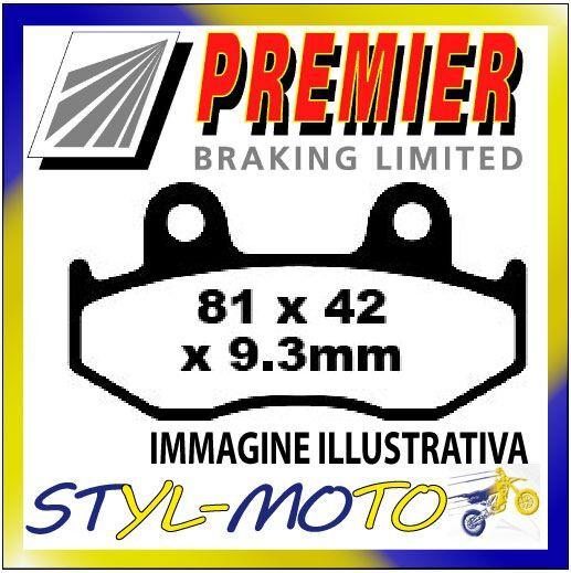PASTIGLIE FRENI ANTERIORI ORGANICHE PREMIER SH 150i 4//5//6//7//8 Rear Drum 2008