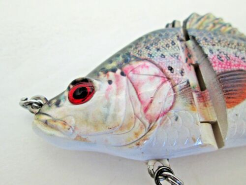 Baby Bass Swimbait For Bass Pike Striper redfish and more Lifelike FREE SHIPPING