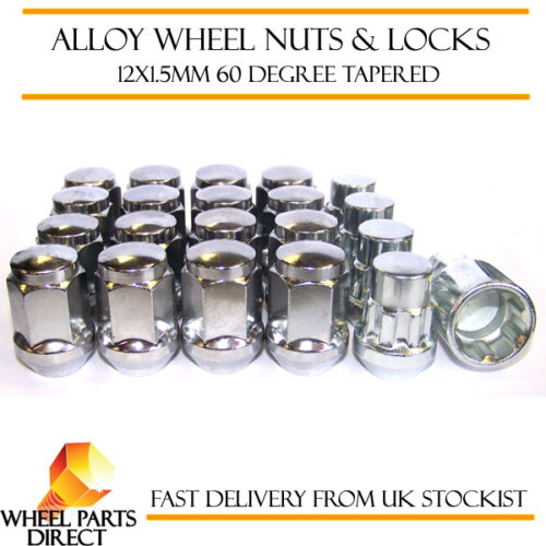 12x1.5 Bolts for Hyundai Genesis Mk2 16+4 Wheel Nuts /& Locks 14-16