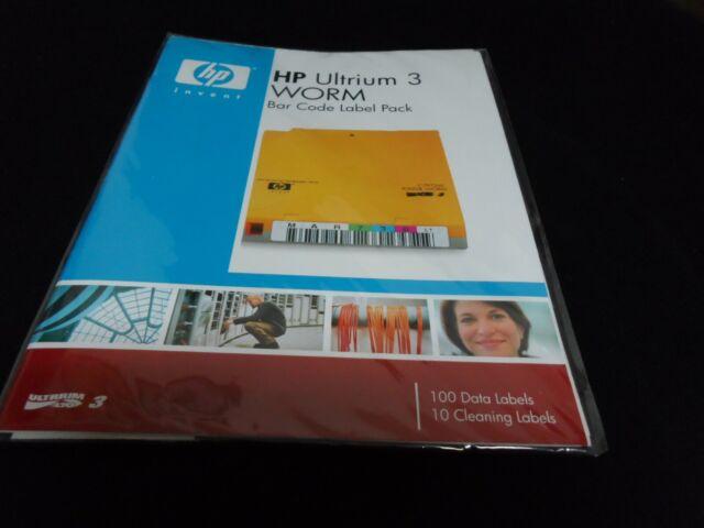 Q2007A-NEW Hewlett-Packard Ultrium 3 RW Bar Code Label Pack