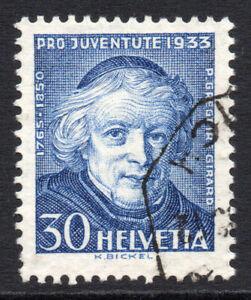 Switzerland-30-Cent-Stamp-c1933-Used-1012