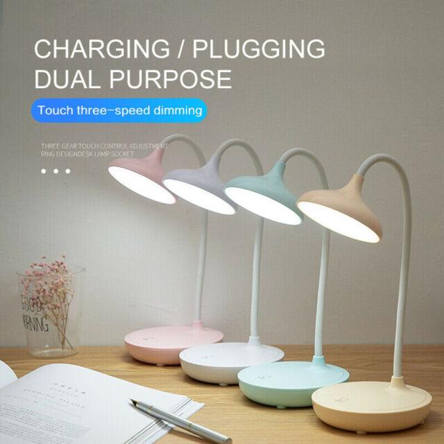 120 Volt Rechargeable Folding Desk, Folding Desk Lamp Dimmable