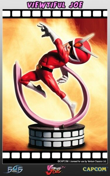Viewtiful Joe Statuette regular edition Statue numérotée par F4F 620373