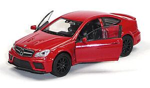 Nuevo-coche-modelo-Mercedes-Benz-c63-AMG-Coupe-rojo-aprox-11-5cm-mercancia-nueva-de-Welly
